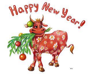 happy new year of cow