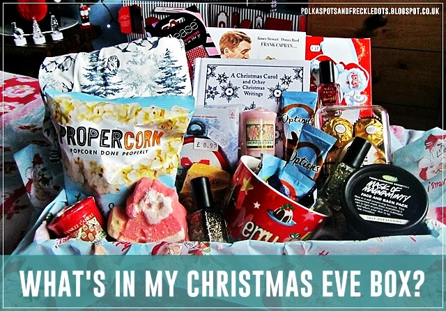 What's In My Christmas Eve Box? 2014   Polka Spots and Freckle Dots