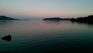Sunset over Doe Bay