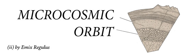 the microcosmic orbit of emix regulus, aka cosmic comics
