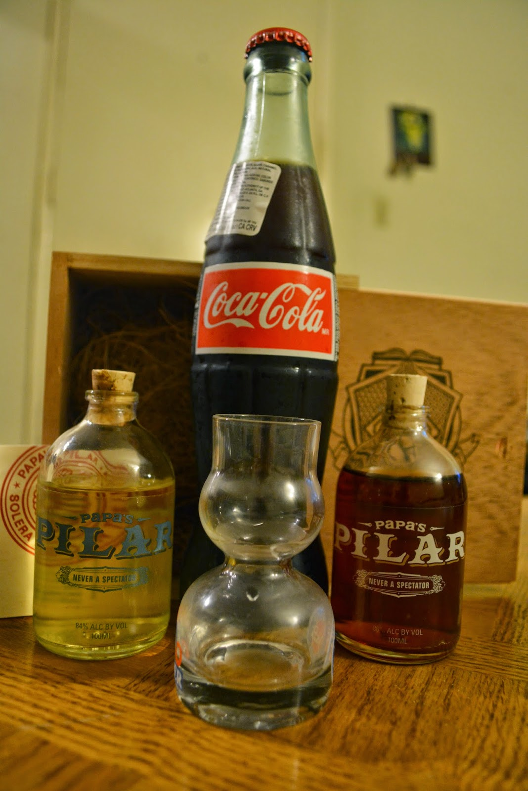 Papas Pilar Rum! - Review of Key West First Legal Rum ...