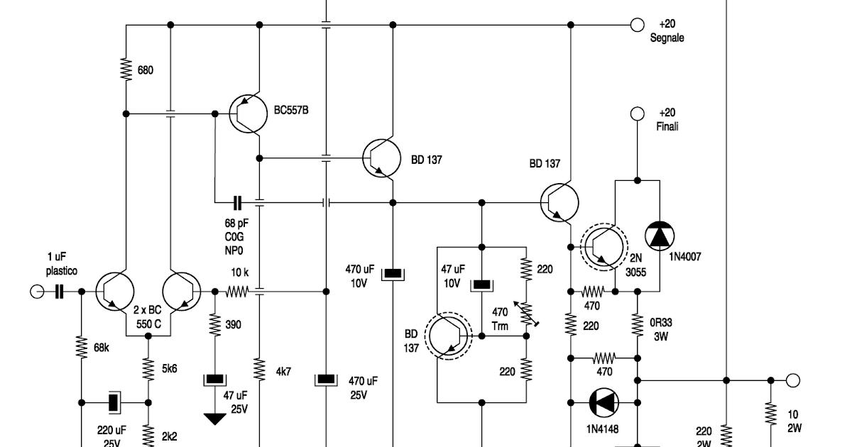 Schemi Elettrici Kit Nuova Elettronica : Schemi elettrici amplificatori audio