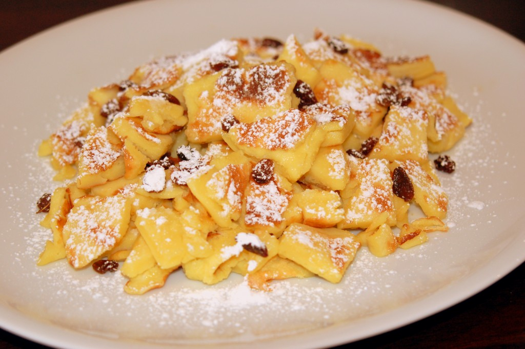 Siv Kristins verden: Østerriske dessertpannekake (Kaiserschmarrn)