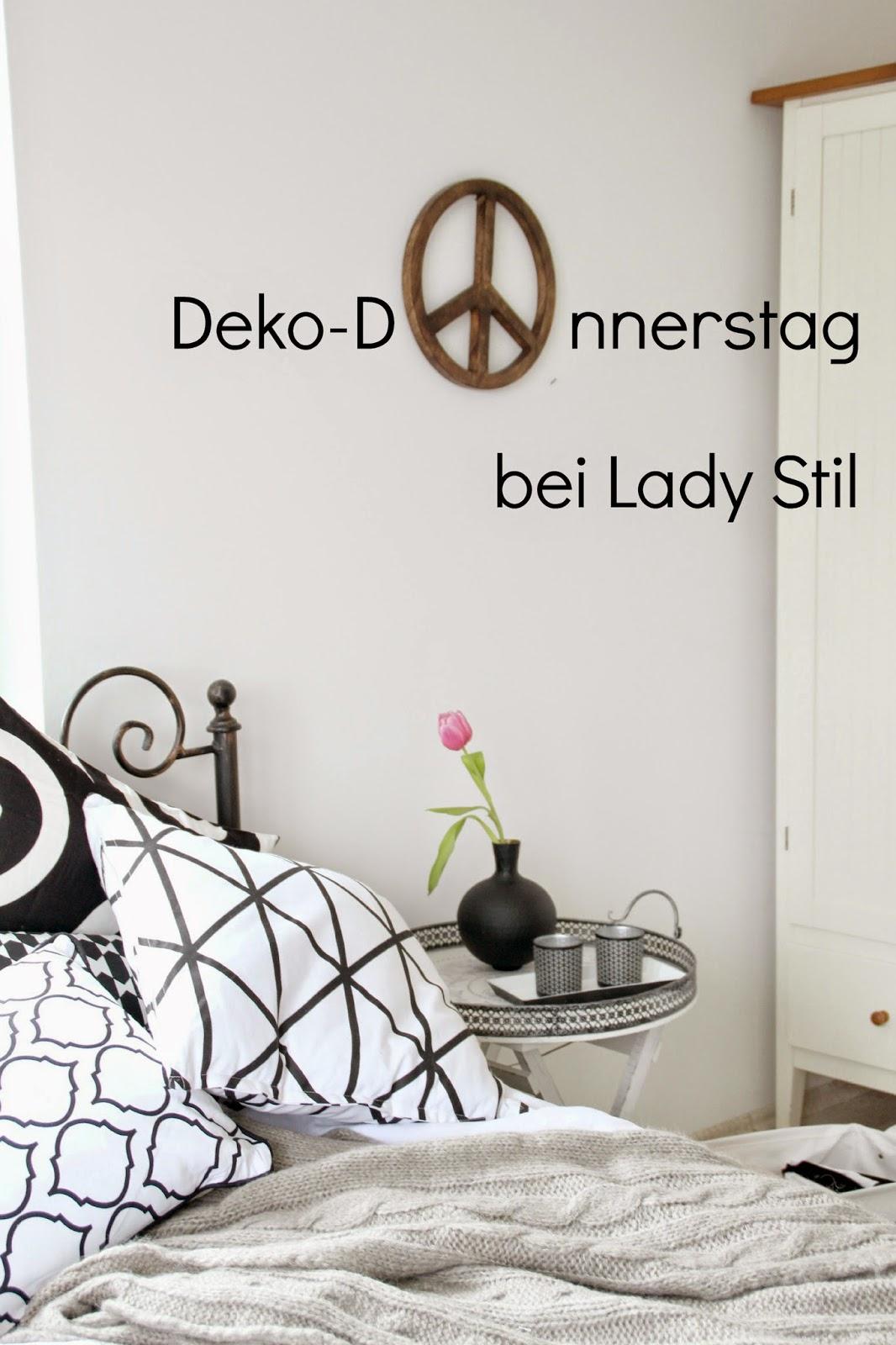 nächster Deko-Donnerstag 11.05