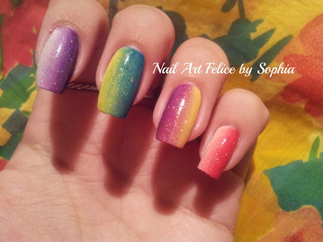 Video Tutorial Nail Art Tecnica Shade (senza gel e senza ...