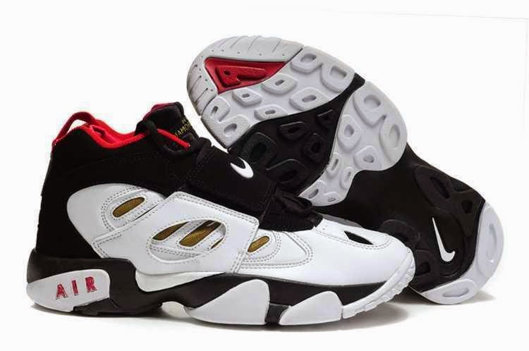 Red Black And White Nike Shoes