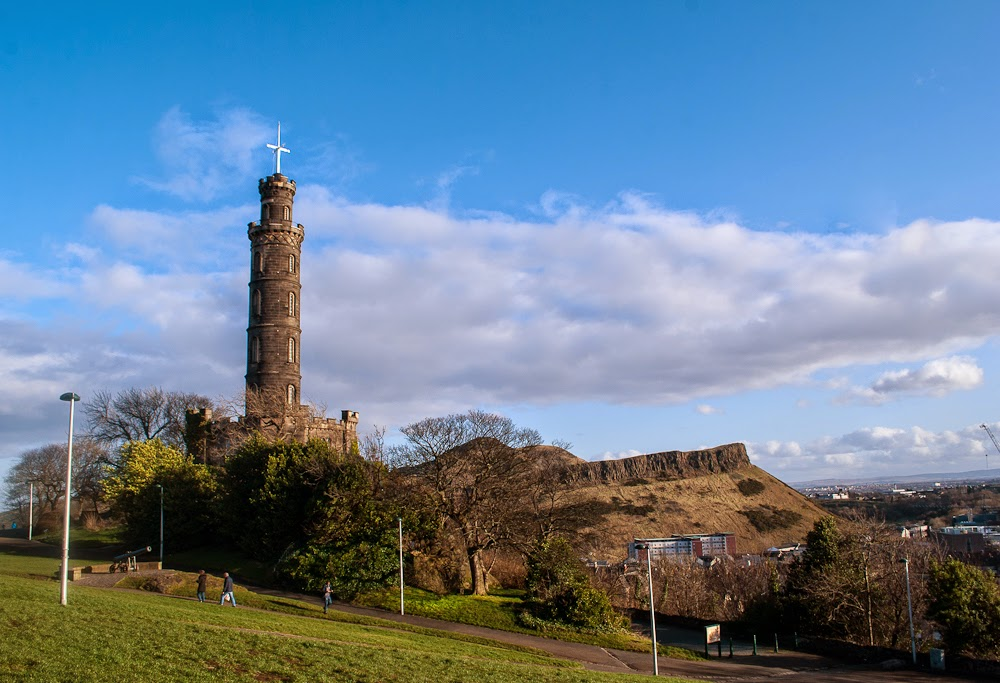 Tower on calton hill edinburgh
