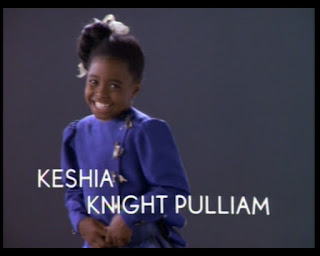 Cosby Show Huxtable fashion blog 80s sitcom Rudy Keshia Knight Pulliam