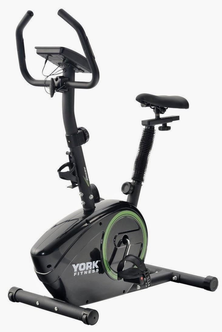 Bicicleta Estatica Profesionales - York Fitness Active 110