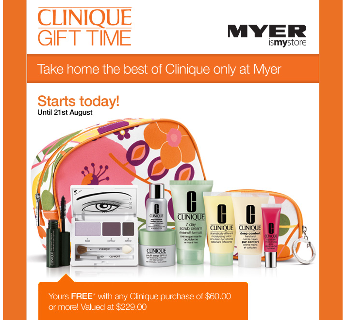 Calvin Klein, Clinique, Estee Lauder. myer estee lauder gift with purchase schedule free gift with.