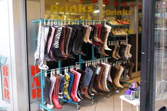 stripper boots