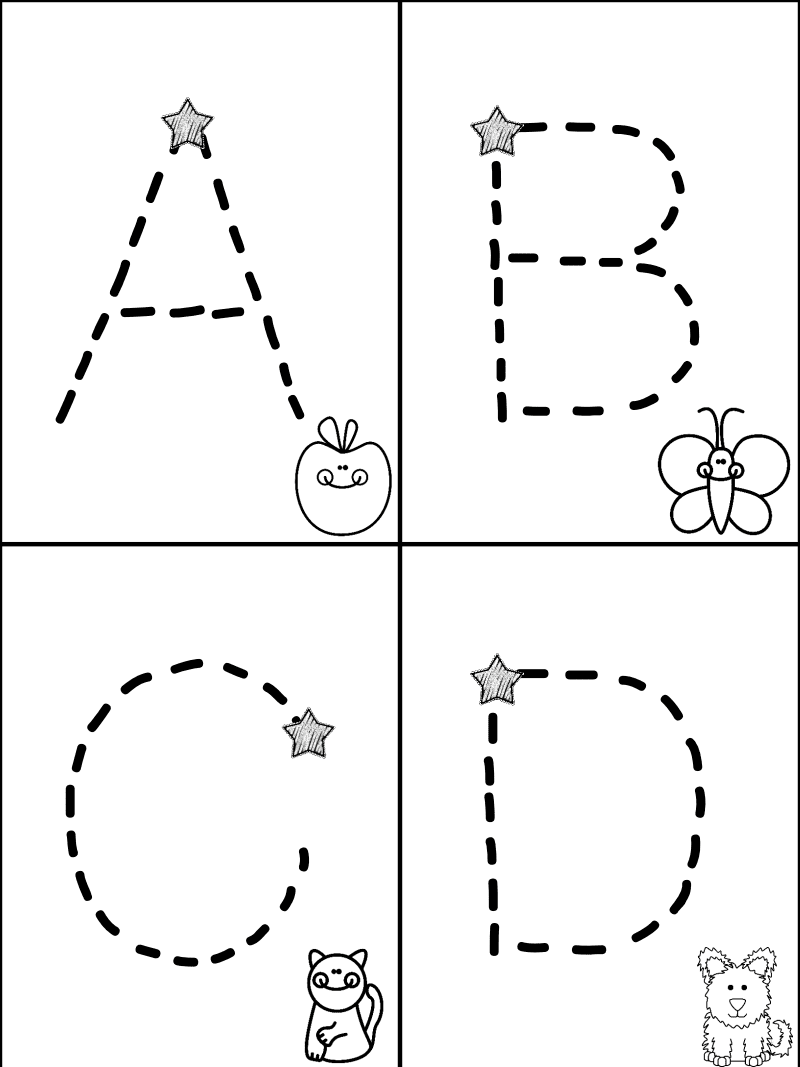 Free Worksheets letter tracing worksheets for preschool : Mrs. Christyu0026#39;s Classroom Experiences: Learning to share ...