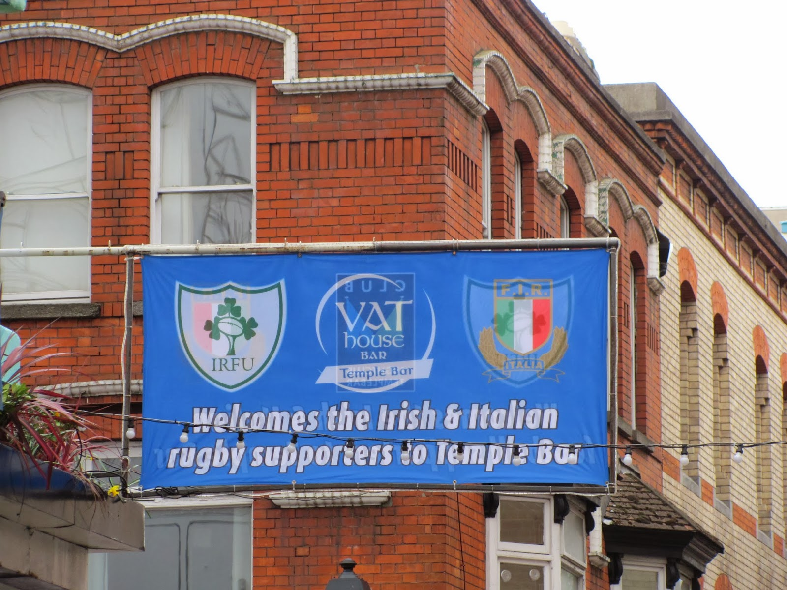 VAT House Welcomes Italy Temple Bar, Dublin