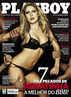 Renata do BBB12 - Revista Playboy - Maio 2012