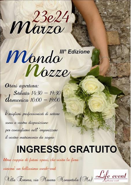 fiera sposi mondo nozze marzo emilia romagna nonantola modena