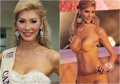 Jenna Talackova 2012 Miss Universe Canada Disqualified