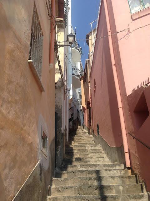 Stairway, Positano, Amalfi Coast, Italy