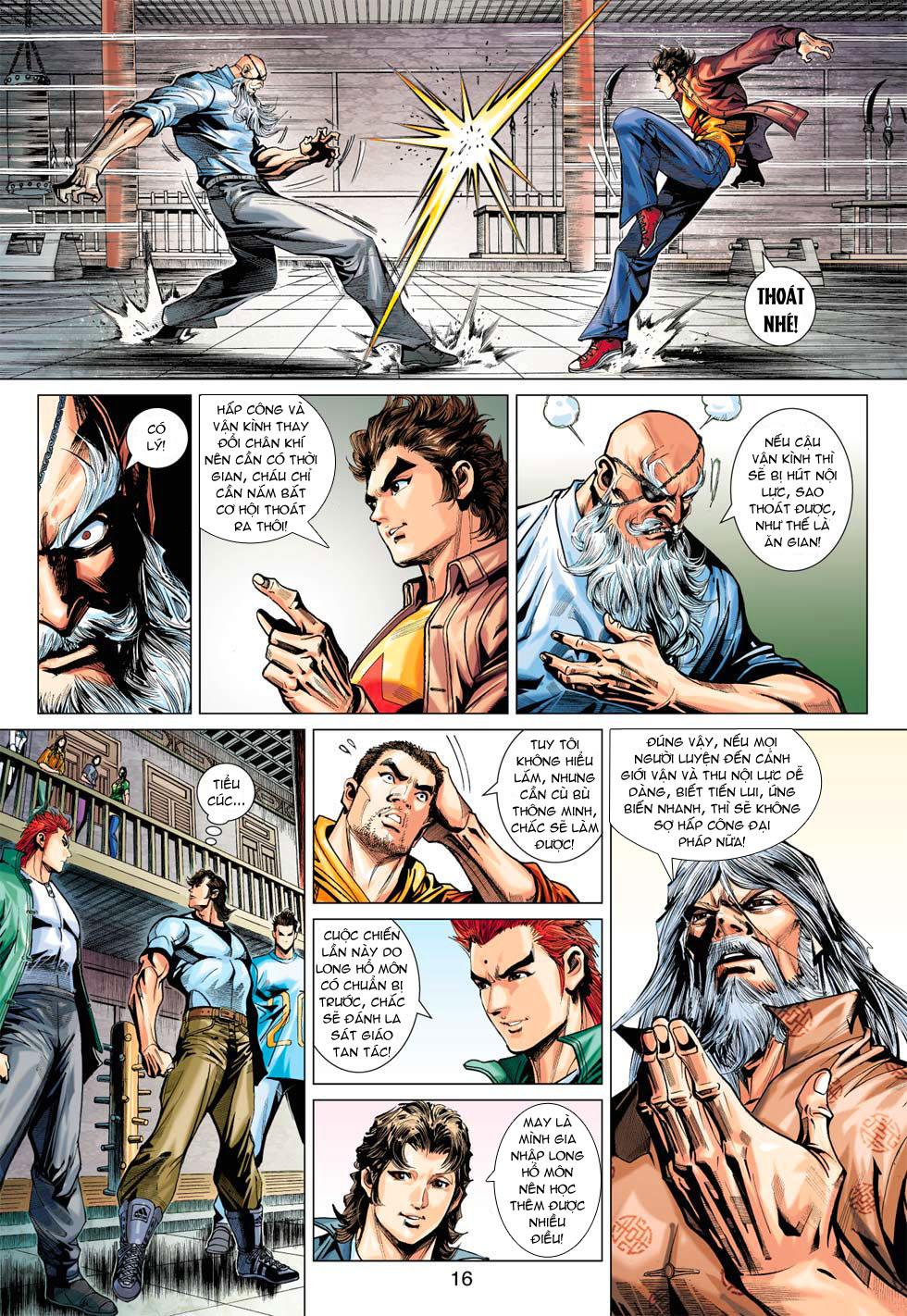 Tân Tác Long Hổ Môn chap 369 - Trang 16