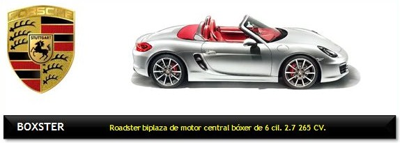 Automóvil Porsche Boxster