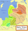 Wikipedia map of Latvian-Lithuanian-group countries