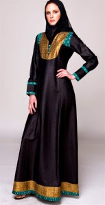 Model baju muslim kaftan panjang untuk cukup umur modis Model Baju Muslim Kaftan Panjang untuk Remaja Modis