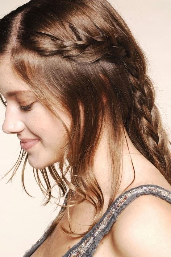 Peinados para fiestas de noche fáciles y sencillos Mujeres Femeninas