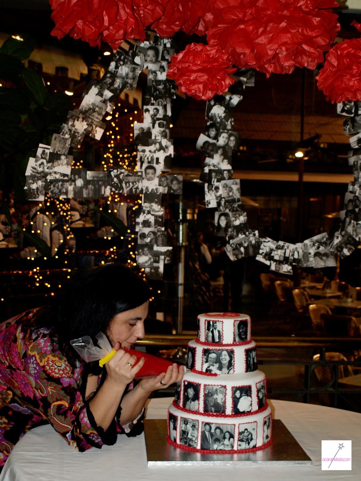 Acaramelada una tarta con 40 a os de historias for Decoracion 40