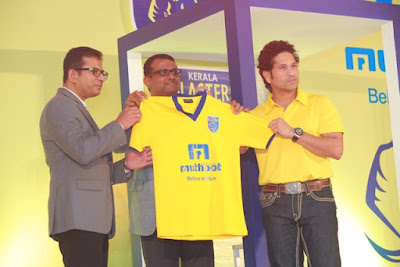 FC Kerala Blasters 2015 Team Jersey or T-shirt