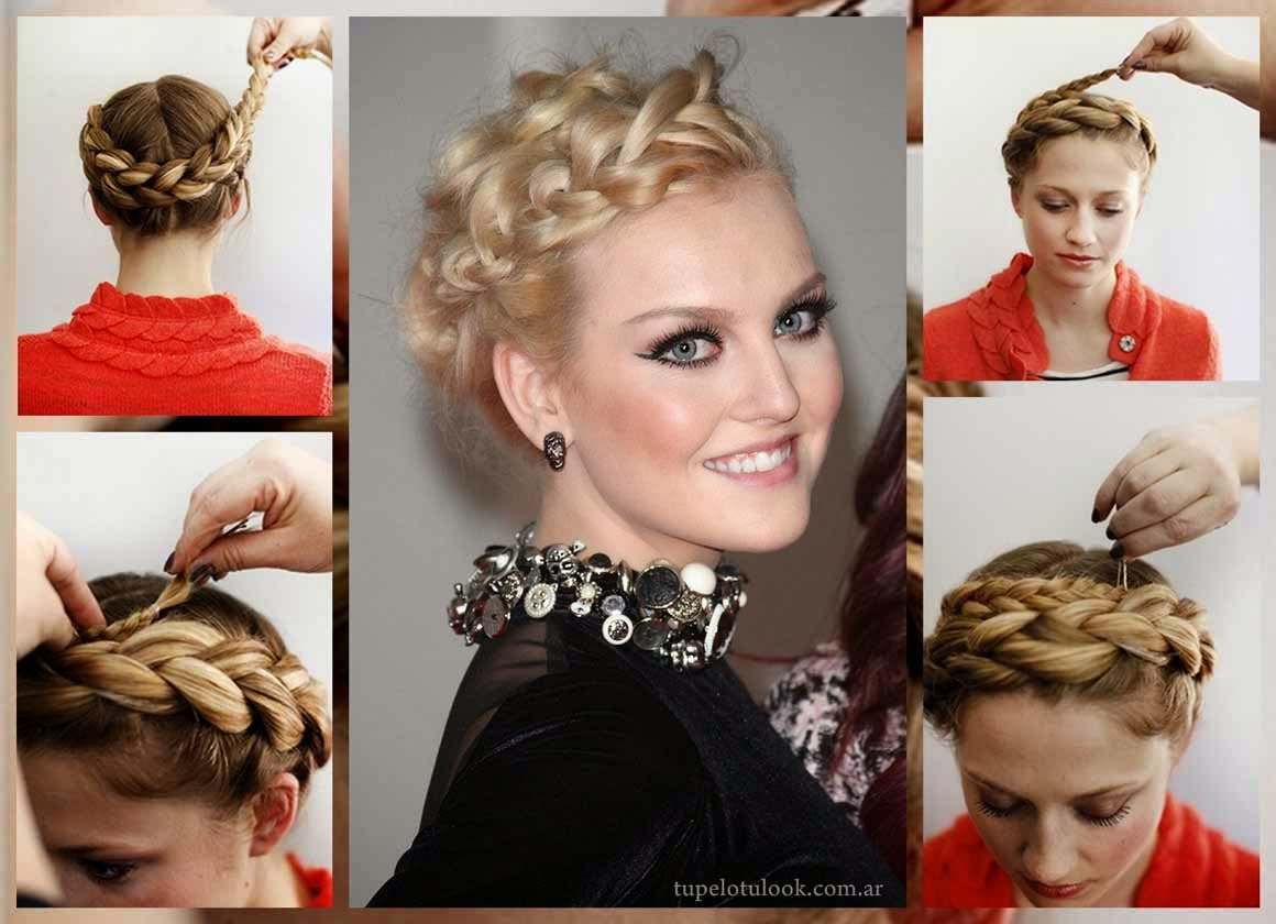 trenzas 2015 diademas tutorial