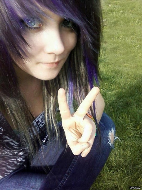 Modern Emo Hairstyles Girls 2017 Medium Long Emo Hairstyles