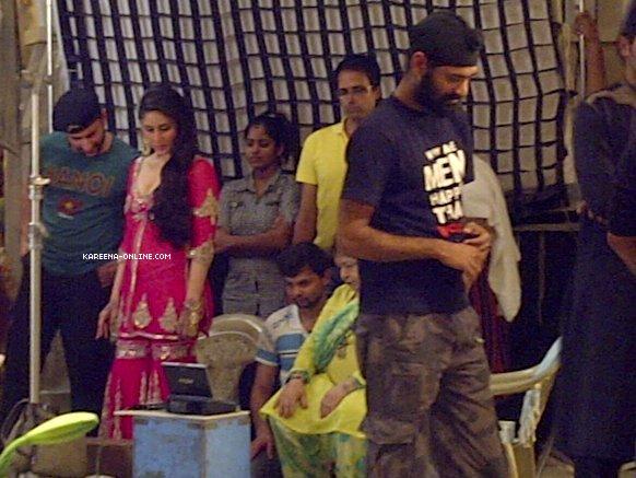 Kareena Kapoor Agent Vinod -  Kareena Kapoor Hot Pics from Sets of Agent Vinod