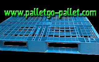 pallet nhựa xanh nhẹ chỉ có 5kg vận chuyên rất dễ nhua đẹp