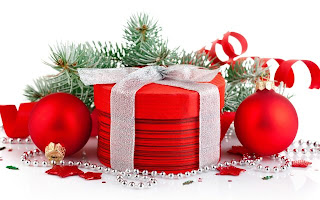 Christmas bubles and gifts
