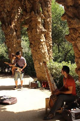 Park Güell Barcelona Music