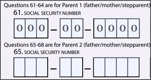 how to find a parents social security number