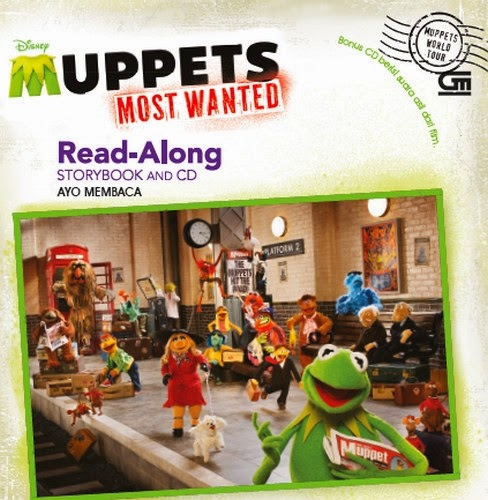 Buku Anak : Muppets Most Wanted