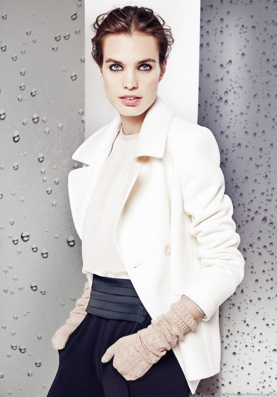 Moda invierno 2014 Graciela Naum chaquetas cortas de mujer.