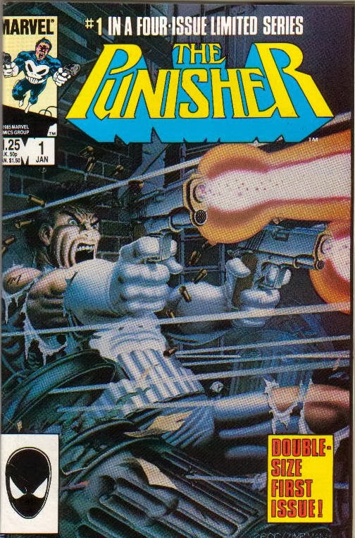 The Punisher #1 Limited Series comic cover