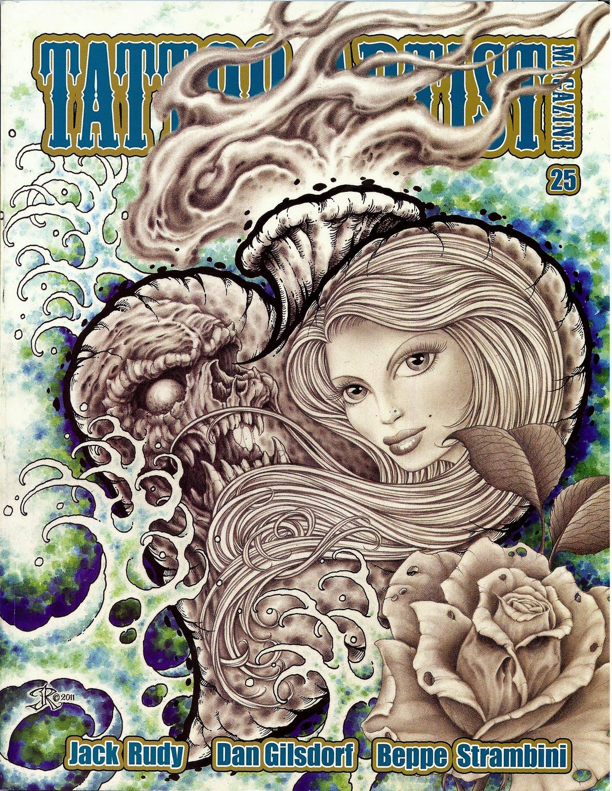 Tattoo artist magazine vol 1