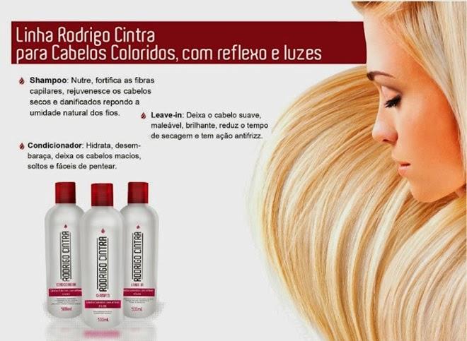 para cabelos coloridos linha rodrigo cintra
