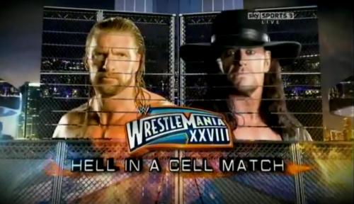 Undertaker vs Triple H