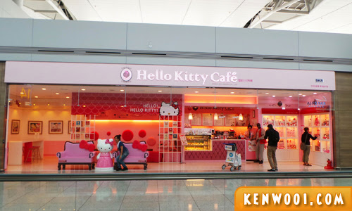 hello kitty cafe incheon airport seoul
