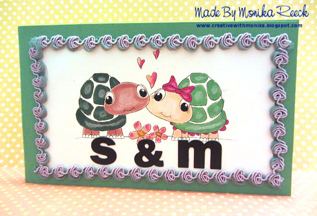 Creative With Monika: Night Shift Stamping GDT, Tiere/Animal, Turtle Card, and OWL CARD