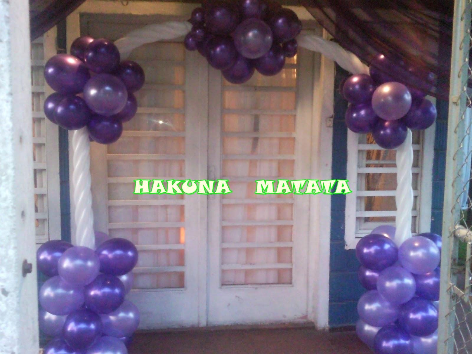 Hakuna Matata Eventos Arco Trenzado Con Flores