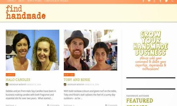 Find Hand Made Arts Crafts Australia