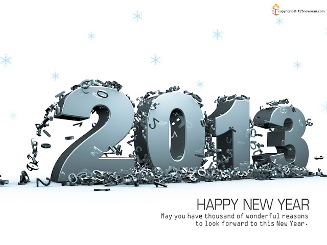Happy New Year's Day 2013 Pictures