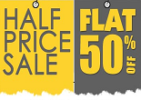 Fashionandyou Half Price Sale : Get Flat 50% OFF Sitewide | Tees @ 199, Flip-Flop @ 199, Shoes @ 399
