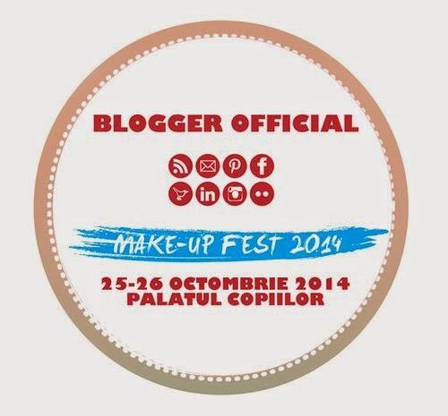 Blogger oficial Makeup Fest 2014