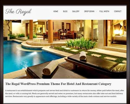 Regalway Free WordPress Theme