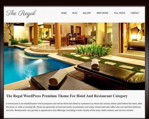 Regalway Free WordPress Theme